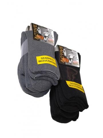Netlačící pánské ponožky Bornpol Active frotte A'3