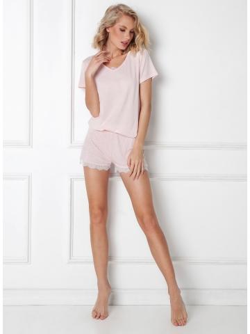 Dámské pyžamo Aruelle Nancy Short kr/r