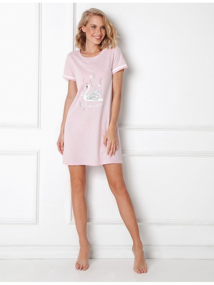 Dámská noční košile Aruelle Sharon Nightdress kr/r