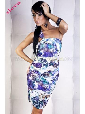 sleva Šaty fialové F&Girl