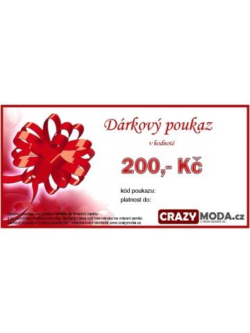 Dárkový poukaz - 200 Kč