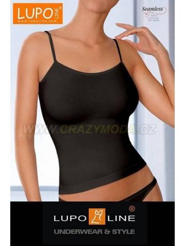 Lupoline dámská bezešvá košilka -černá