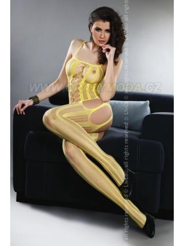 Bodystocking Livia Corsetti Almas Yellow