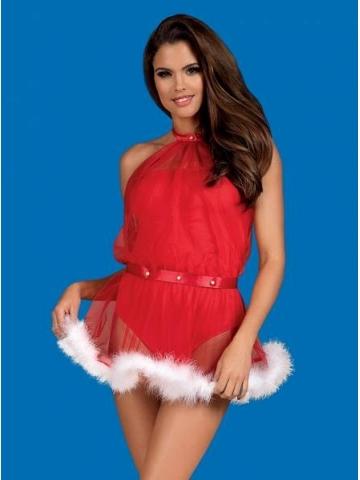 Vánoční kostým Santastic dress Obsessive