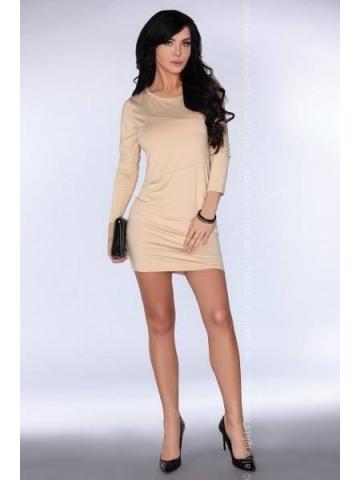 Dámské šaty Merribel CG005 beige