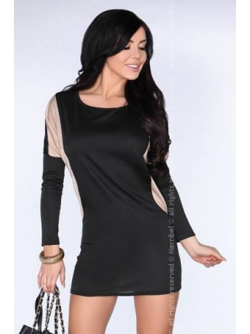 Dámské šaty Merribel CG020 černé