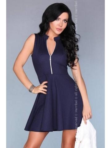 Dámské šaty Merribel 10301D modrá