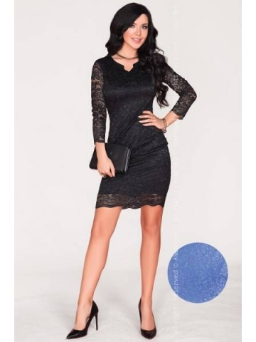 Dámské šaty Merribel 10391D modrá
