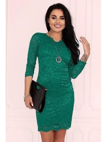 Dámské šaty Merribel 10391D zelená