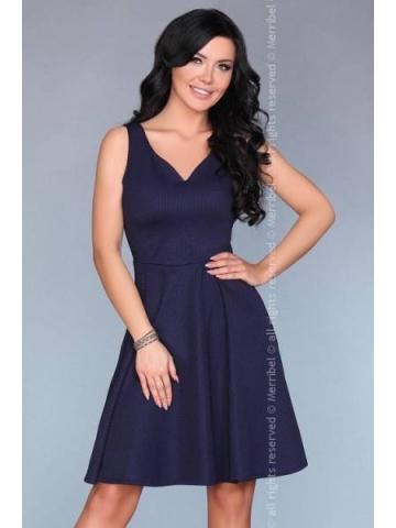 Dámské šaty Merribel 13451D modrá