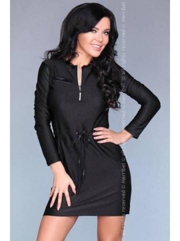 Dámské šaty Merribel 17897D černá