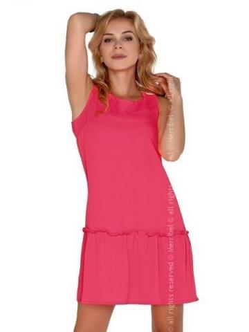 Dámské šaty Merribel Nixolna Neon růžové