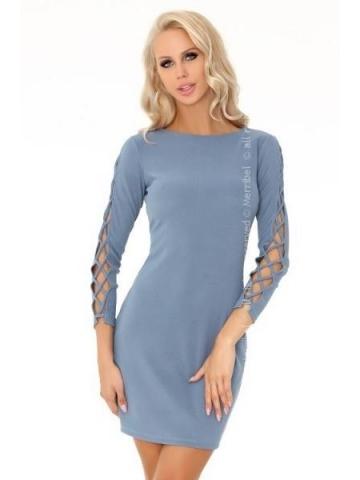 Dámské šaty Merribel Merciana 85198 modrá