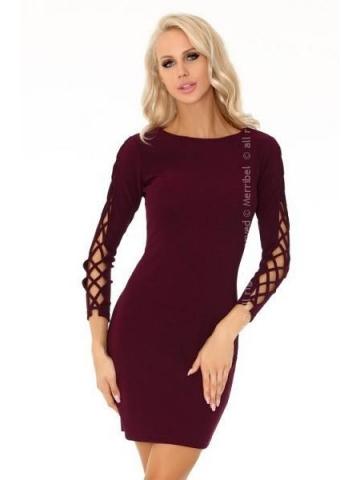 Dámské šaty Merribel Merciana 85198 švestková